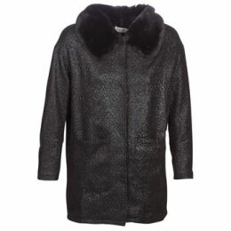 Molly Bracken  QUIEN  women's Coat in Black