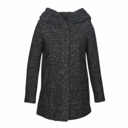 Vero Moda  VMVERODONA  women's Coat in Black
