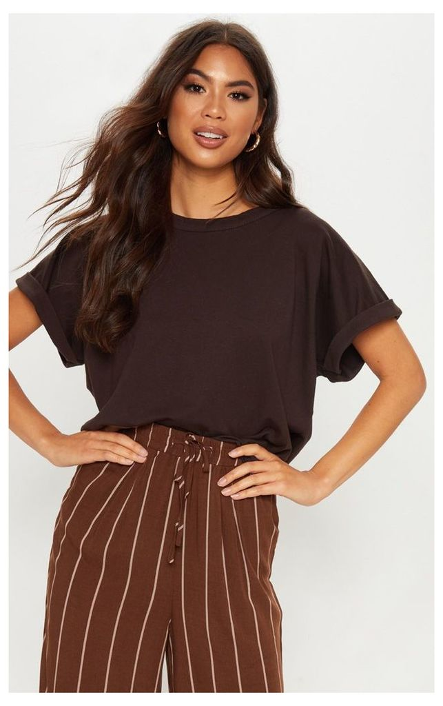 Chocolate Low Arm T Shirt, Chocolate