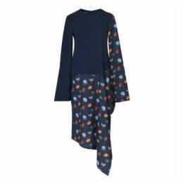 Boo Pala London Asymmetric Blues Dress