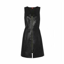 Kitri Leigh Vinyl Mini Dress