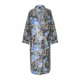 Boo Pala London Bingo Blue Trench Raincoat