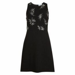 3.1 Phillip Lim Black Embellished Mini Dress