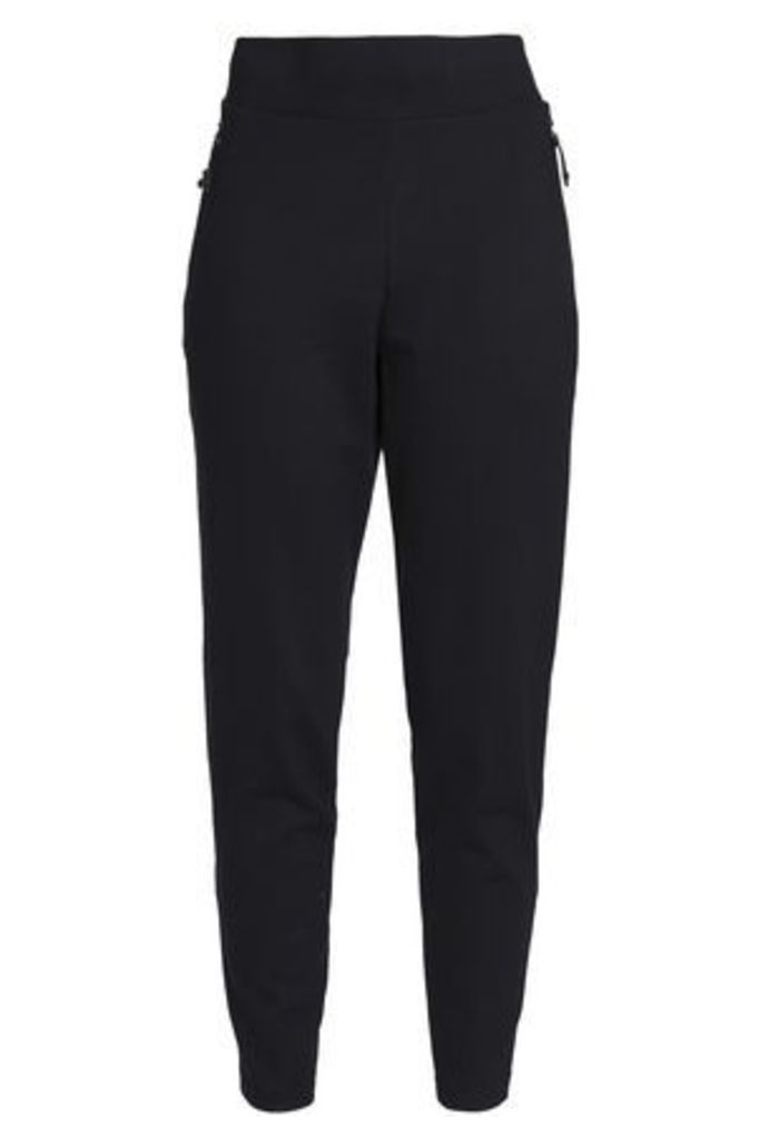 Adidas Woman Jersey Track Pants Black Size L