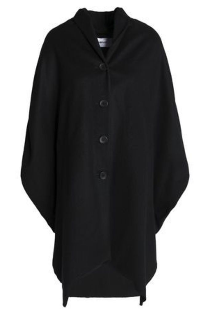 Chalayan Woman Oversized Brushed Wool-blend Jacket Black Size L