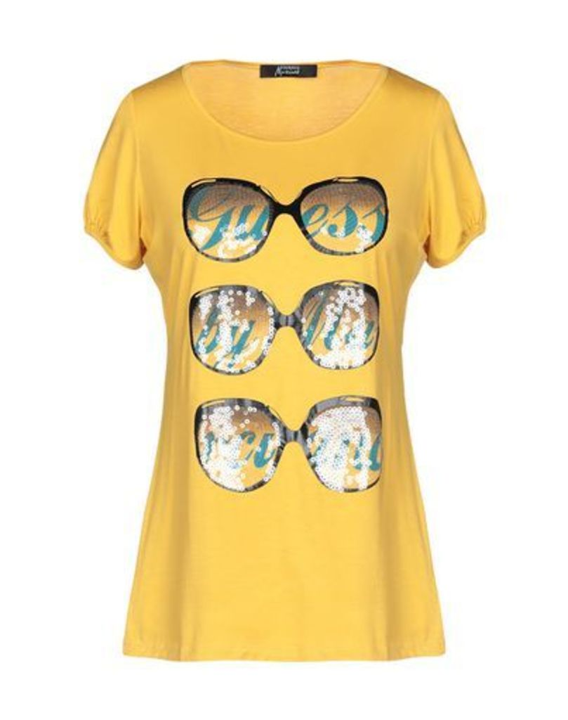 GUESS BY MARCIANO TOPWEAR T-shirts Women on YOOX.COM