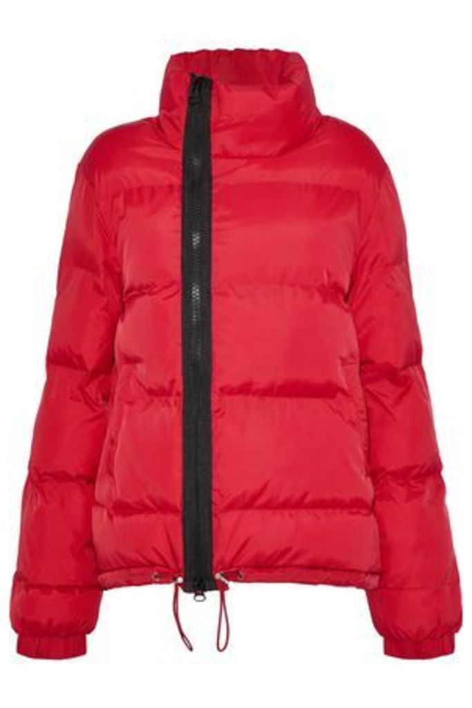 W118 By Walter Baker Woman Corinne Quilted Shell Jacket Red Size M