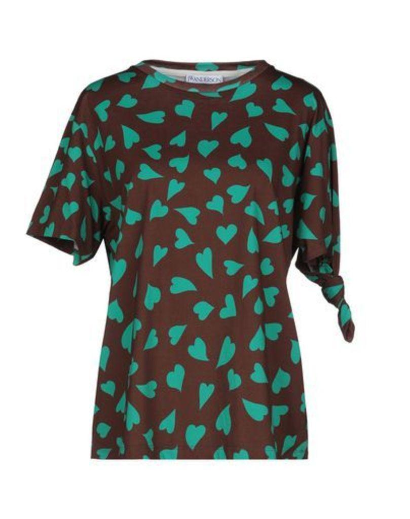 J.W.ANDERSON TOPWEAR T-shirts Women on YOOX.COM