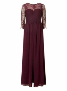 Womens **Showcase Mulberry 'Rosaline' Maxi Dress- Red, Red