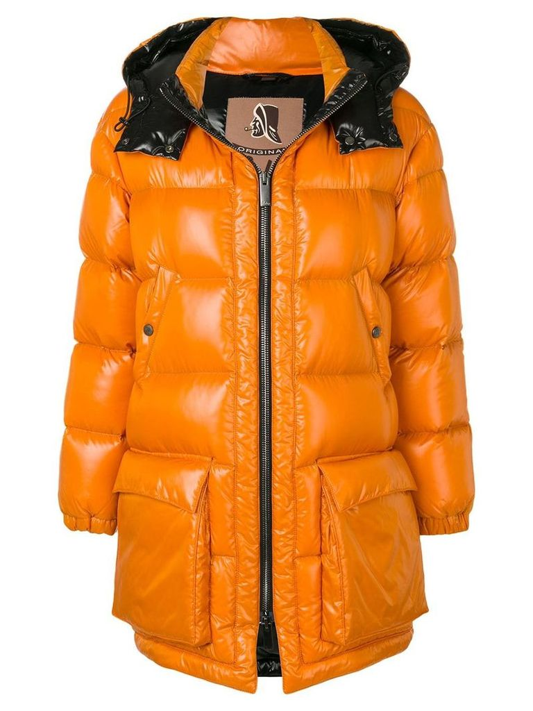 Sealup padded puffer coat - Orange