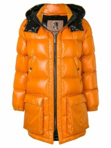 Sealup padded puffer coat - Orange
