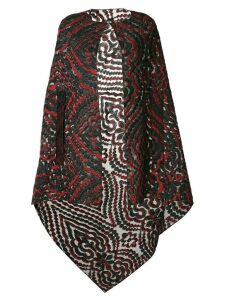 Roland Mouret lightweight cape - Red