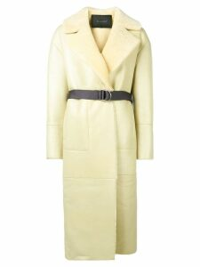 Blancha loose fitted coat - Yellow