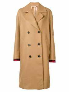 Nº21 double breasted coat - Neutrals