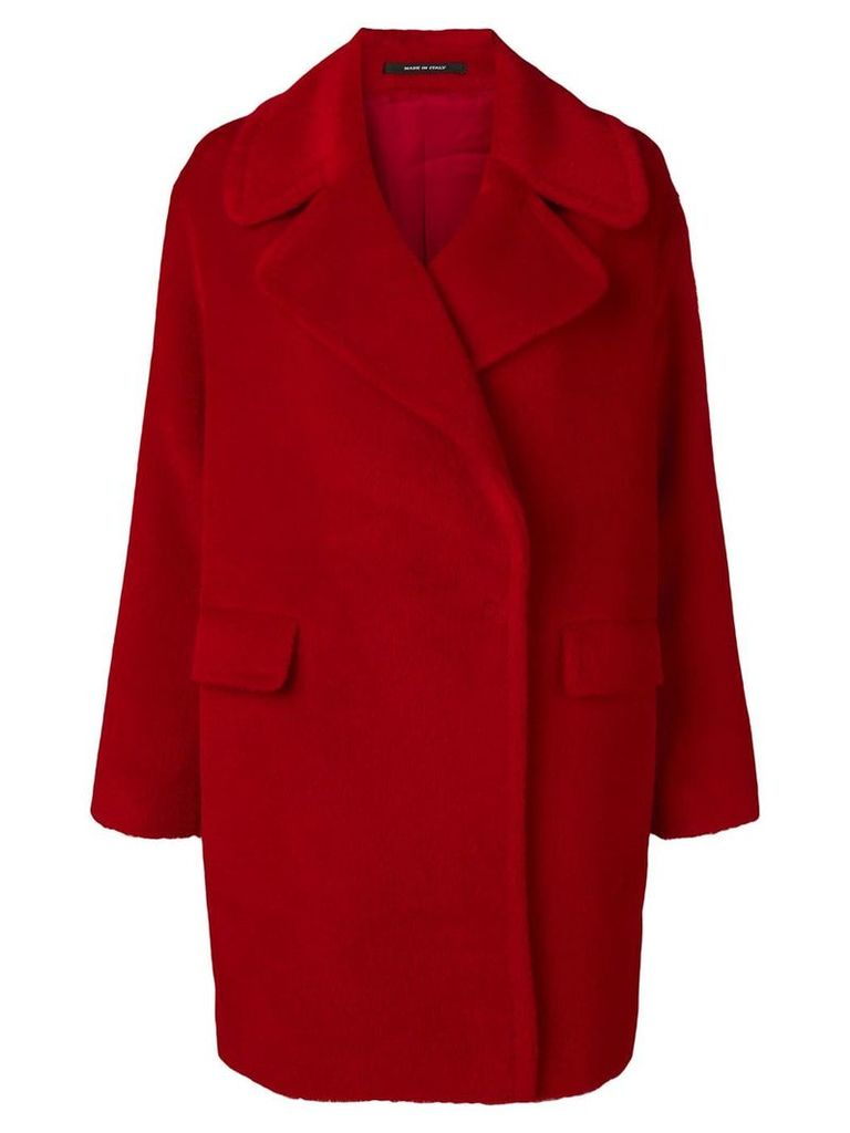 Tagliatore Astrid coat - Red