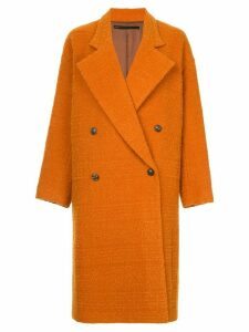 Muller Of Yoshiokubo Curly wool coat - Orange