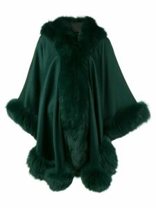 Liska oversized hooded coat - Green