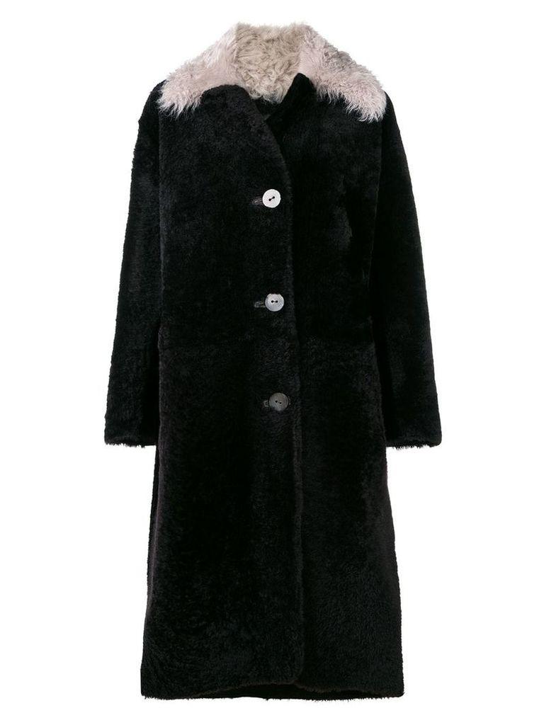 Sylvie Schimmel reversible sheraling jacket - Brown