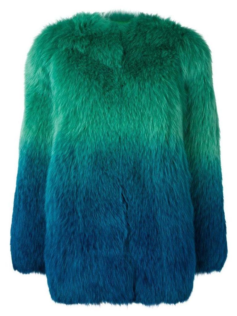 Numerootto oversized coat - Blue