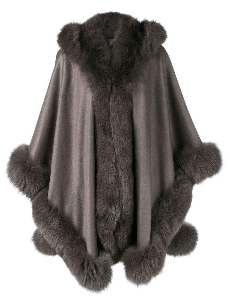Liska oversized hooded coat - Green