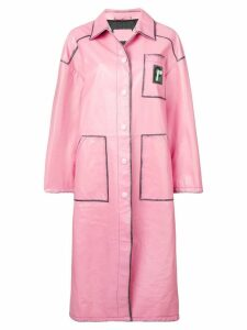 Prada oversized coat - Pink