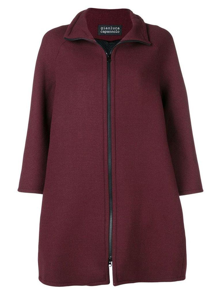 Gianluca Capannolo zip-up flared jacket