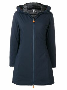 Save The Duck padded A-line coat - Blue
