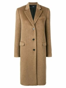 Jil Sander Navy classic single breasted coat - Brown