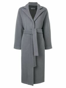 Gianluca Capannolo belted coat - Grey