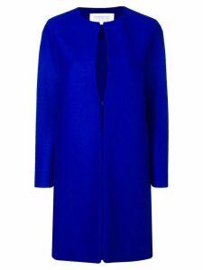 Harris Wharf London straight fit coat - Blue