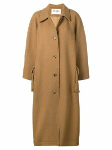 A.W.A.K.E. Mode slit sleeve coat - Brown