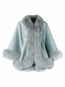 Liska cashmere flared coat - Grey