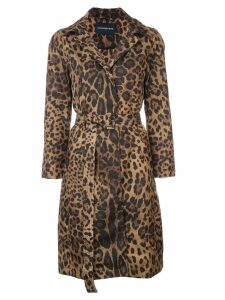 Samantha Sung Parisseinne leopard print coat - Brown