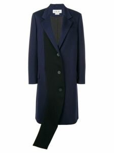 Loewe contrasting panel coat - Blue