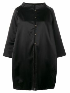 Gianluca Capannolo Monica reversible coat - Black