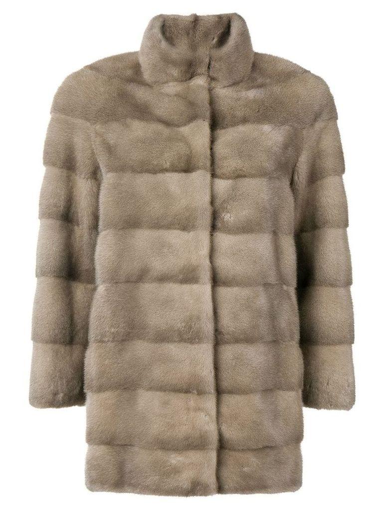 Cara Mila Mila classic coat - Grey