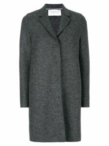 Harris Wharf London single-breasted coat - Grey