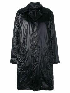 Haider Ackermann plain car coat - Black
