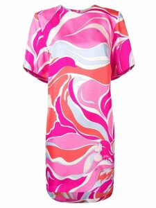 Emilio Pucci Riviera Print Silk Dress - Pink