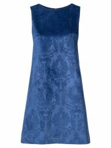 Alice+Olivia printed shift dress - Blue