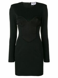Versus fitted corset dress - Black