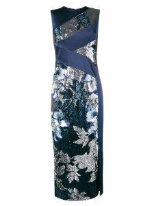 Three Floor Glitterati dress - Blue