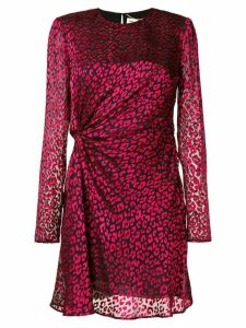 Saint Laurent gathered detail mini dress
