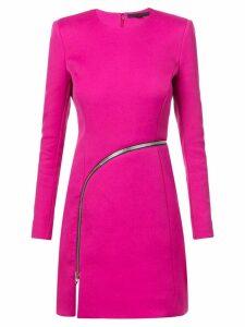 Alexander Wang zipper short dress - Pink