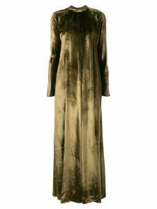 Layeur Barbara velvet dress - Green