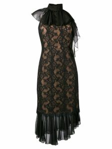 Three Floor Ruffella dress - Black