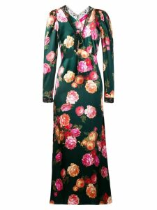 F.R.S For Restless Sleepers floral print maxi dress - Green