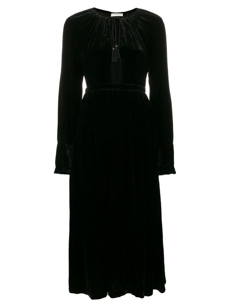 Ulla Johnson velvet midi dress - Black