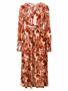 Ulla Johnson printed long dress - Pink