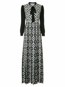 Mary Katrantzou Duritz tile dress - Black